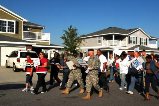 Fort Stewart Take Back the Night March